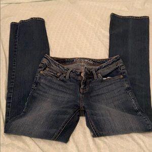 Chelsey boot cut aero jeans
